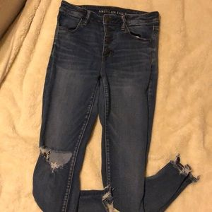 American Eagle jeans high wasted size 8